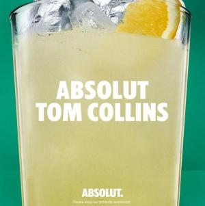 Absolut Tom Collins