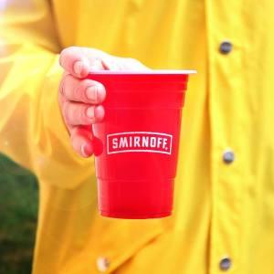 Smirnoff raincoat