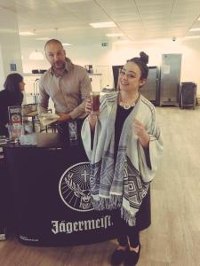 Jager bombs in the office