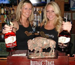 Buffalo Trace 2 girls