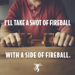 Fireball side