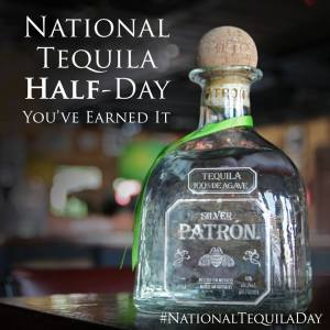 Patron tequila day