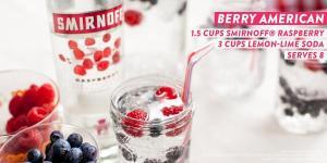 Smirnoff Berry American