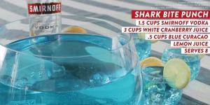Smnoff shark bite