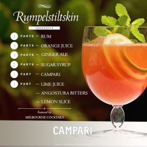 Campari lemon