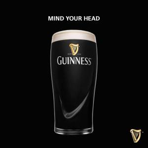 guinness mind your head