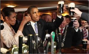 Guinness Obama