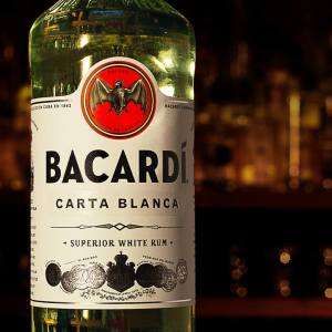 bacardi white label