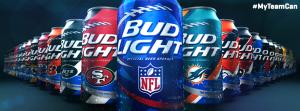 bud light sponsor football