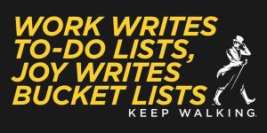 JWalker bucket lists
