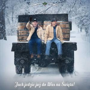 jd 2 men on a wagon