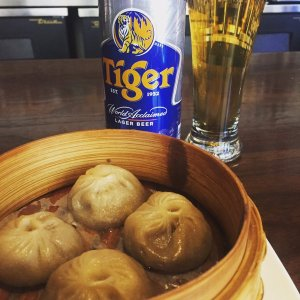 tiger beer dumplings