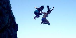 corona girls jumping tw jan 16