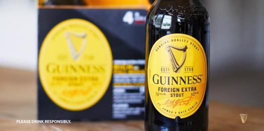 guinness just because
