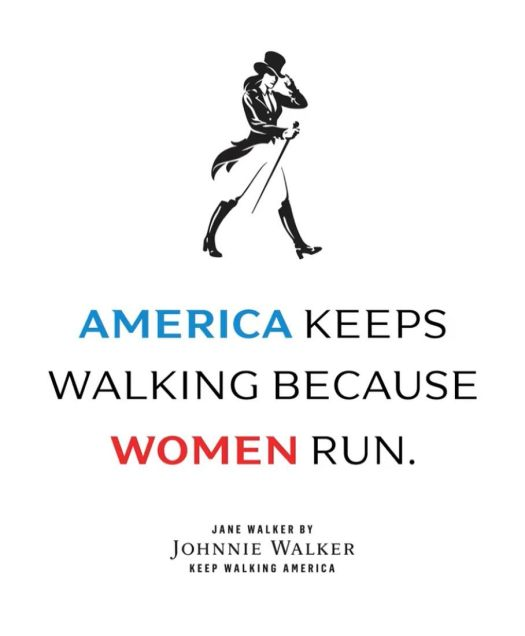 america keeps walking because women run
