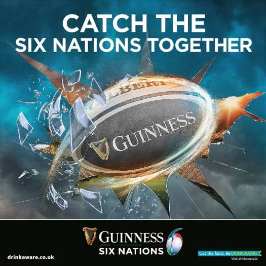 guinness 6 nations drinkaware
