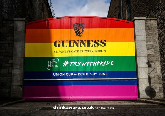 guinness drinkaware uk union cup