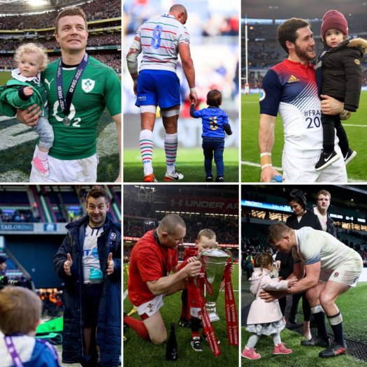 guinness 6 nations bod & baby