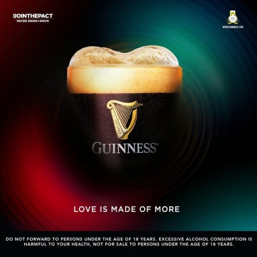 guinness love is made of more