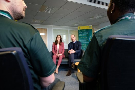 duke duchess of westminster thank nhs staff