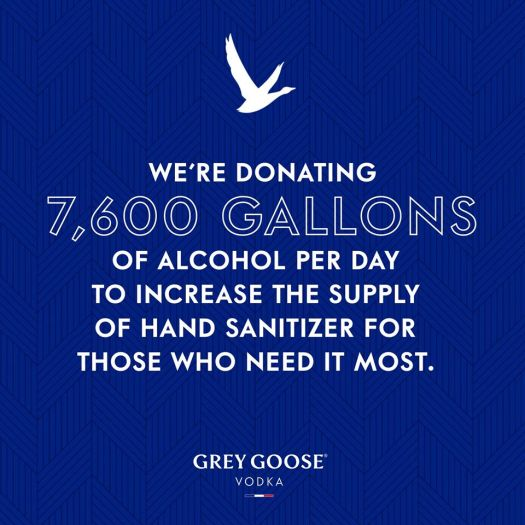 grey goose hand sanitizer