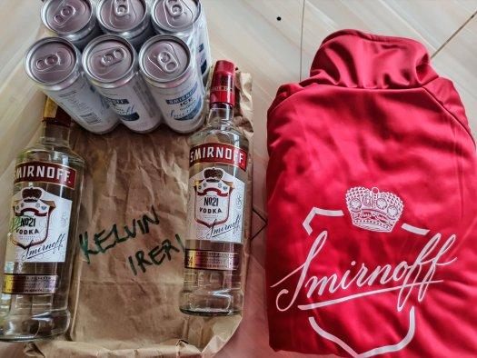 smirnoff kenya home pack