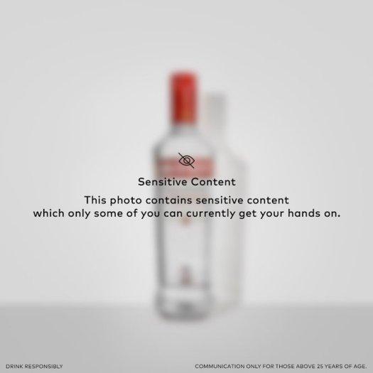 smirnoff india sensitive content