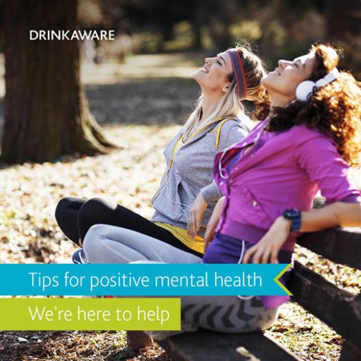 drinkaware minding mental health